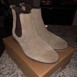 Crevo Denham Chelsea Boots (Tan)